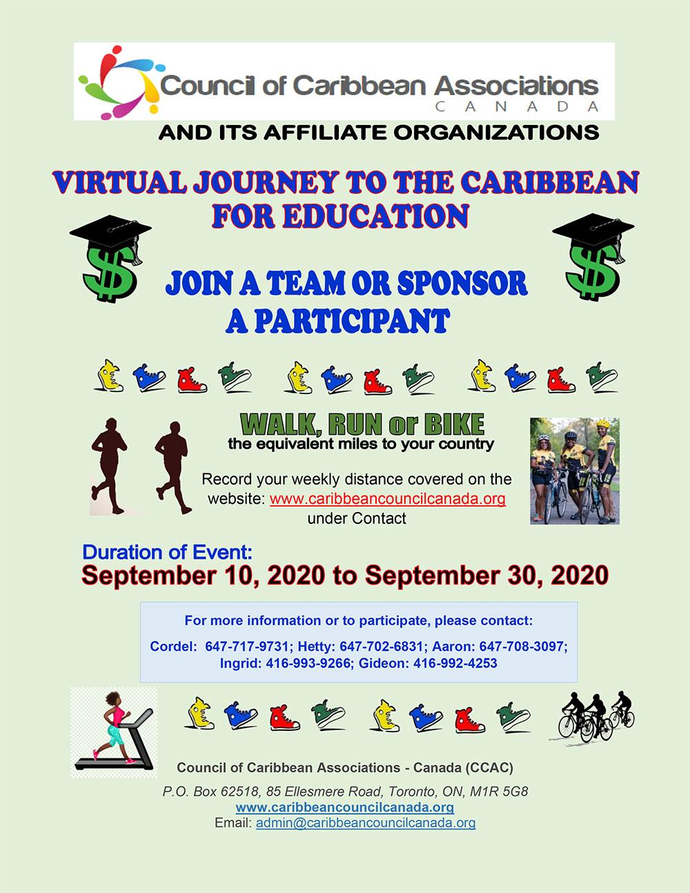 2020-Sep-10 - CCAC 2020 Walk-A-Thon